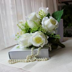 Style Classique Forme libre Satiné Bouquets de mariée -