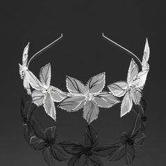 Elegante Rhinestone/Aleación Diademas