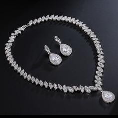 Klassisk stil Zirkon Damer' Smycken Sets