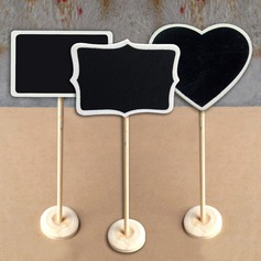 Lovely Wooden Place Cards (set of 10)