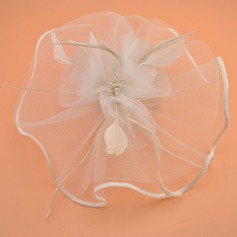 Damer' Elegant Netto garn Fascinators