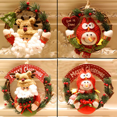 Weihnachten Baumwolle PVC Wohnkultur (Sold in a single piece)
