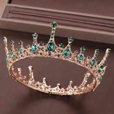 Abbigliamento donna Elegante Strass/lega/Di faux perla Diademi con Strass/Perla Veneziano (Venduto in un unico pezzo)