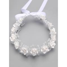 Polymeren Ler med Blomst Flower Headband