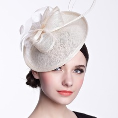 Ladies' Beautiful Silk Flower Fascinators