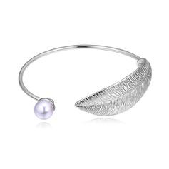 Modern Legering Fauxen Pärla Damer' Mode Armband