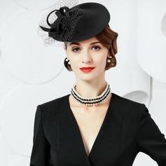 Dames Klassiek Wol Fascinators/Theepartij hoeden