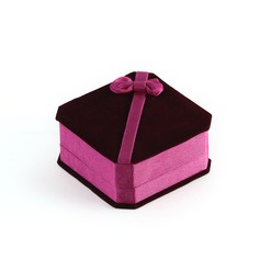 Lovely Velvet Ladies' Jewelry Box