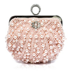 Style Perle Polyester/Perle d'imitation Pochettes