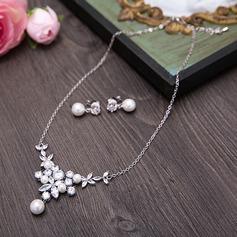 Elegant Zirkon Damer' Smycken Sets (011114647)