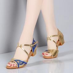 Kinderen Satijn Sandalen Latijn Dansschoenen