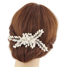 Ladies Glamourous Imitation Pearls Combs & Barrettes (Sold in single piece)