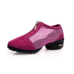 Mulheres Pano Tênnis Treino Sapatos de dança