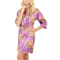 Charmeuse Bride Bridesmaid Mom Floral Robes (248197028)