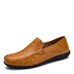 Mannen Echt Leer Penny Loafer Casual Loafers voor heren
