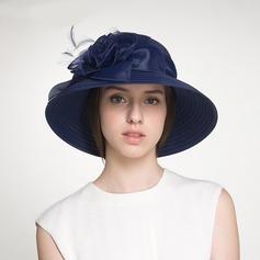 Damen Schöne/Glamourös Polyester mit Blume Schlapphut/Strand / Sonne Hüte