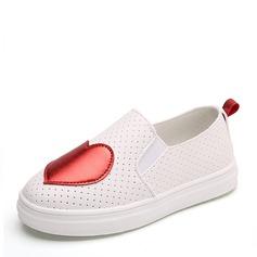 Mädchens Geschlossene Zehe Slipper & Slips Leder Flache Ferse Flache Schuhe Sneakers & Sport