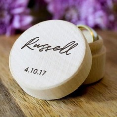 Simple/Elegant Ring Box in Wood