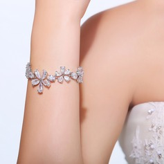 Classic Zircon With Cubic Zirconia Ladies' Bracelets