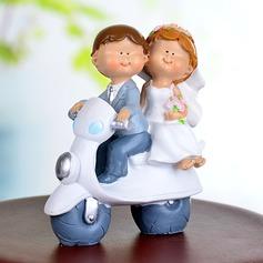 Fordon Harts Bröllop Tårtdekoration