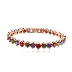 Schöne Zirkon/Vergoldet Damen Armbänder