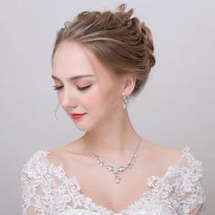 Romântico Liga/Zircon Senhoras Conjuntos de jóias