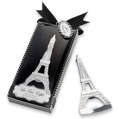 De Eiffeltoren Ontwerp Metaal Flesopeners met Linten