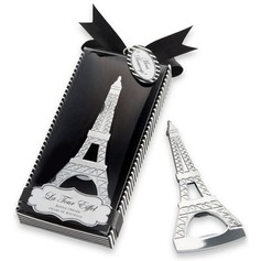 Eiffeltornet Mallen Metall Flasköppnare med Färgband