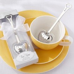 """Tea Time"" Heart Shaped Stainless Steel Tea Infuser (050025904)"