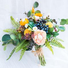 Söt Kaskad Konstgjorda Blommor Brud Buketter (predávaný v jednom kuse) - Brud Buketter
