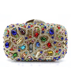 Elegant Alloy Clutches/Minaudiere
