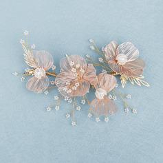 Vakkert kobber Pannebånd med Venetianske Perle (Selges i ett stykke)