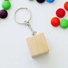 Classic Wooden Keychains