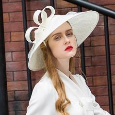 Damer' Mode/Iögonfallande/Snygga Batist Basker Hat