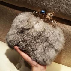 Charming Faux Leather/Crystal/ Rhinestone/PU Clutches/Fashion Handbags
