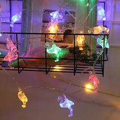 Fin/Kjærlighet Fugl Nydelig PVC LED Lys