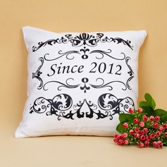 Personalized Floral Design Pillow Case (10 letters or less)