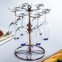 élégante style classique fer Casier à vin