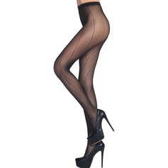 Strié Nylon De chinlon Pantyhose
