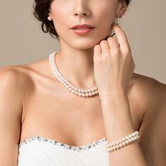 "Bonito Pérola/""AA"" pérola Senhoras Conjuntos de jóias"