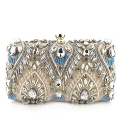 Unique/Charming/Classical Satin Clutches/Evening Bags (012228636)
