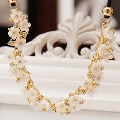 Elegante Aleación/Diamantes de imitación Señoras' Collares