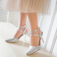Donna Camoscio Tacco a spillo Stiletto Punta chiusa con Fibbia Altrui scarpe