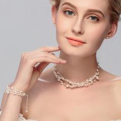 Elegante Aleación con Rhinestone De mujer/Señoras' Sistemas de la joyería