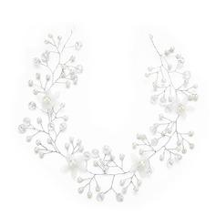 Damer Spesielle Crystal/Imitert Perle Pannebånd med Venetianske Perle/Crystal (Selges i ett stykke)
