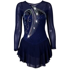 Femmes Tenue de danse Spandex Danse latine Performance Robes