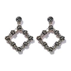 Mode Legering Tjeckiska Stones Damer' Mode örhängen