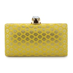 Elegant Spets Grepp/Brudväska/Mode handväskor/Makeup Väskor