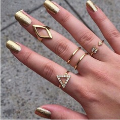 Fashional Alloy Ladies' Fashion Rings (Set of 4)