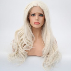 Loose Wavy Syntetisk Lace Front Parykker